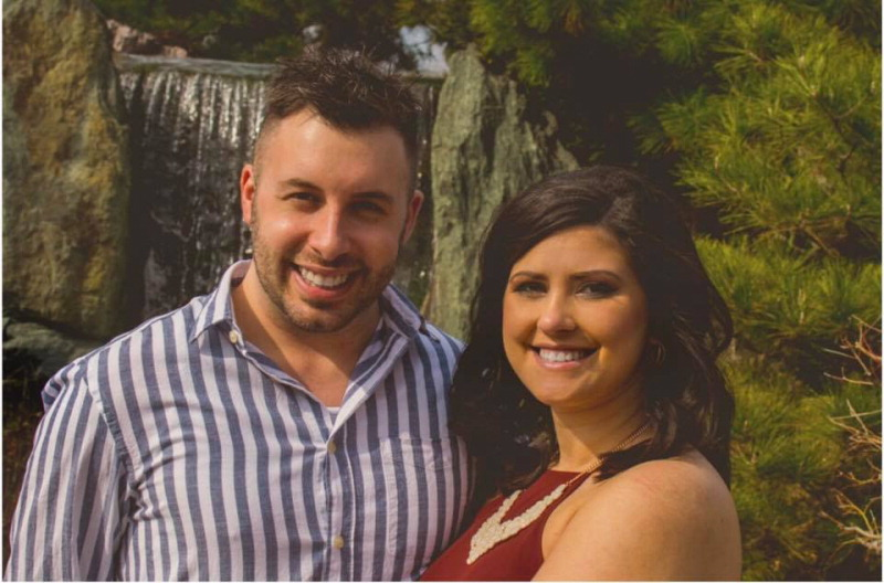 Angela Williamson and Dustin Firestine
